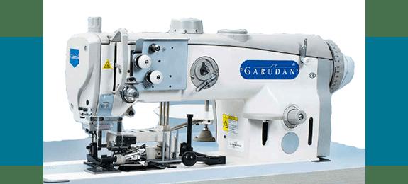 Прямострочная швейная машина Garudan для подшивания и обрезки материалов серии GF-139-443/L33