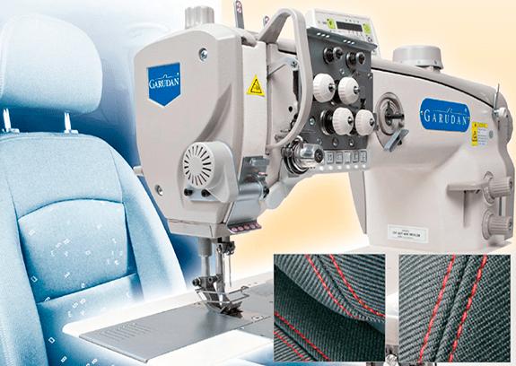 Швейные машины Garudan для изготовления салонов автомобилей