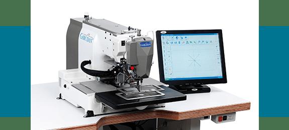 Промышленная швейная машина Garudan с электронным управлением и прямым приводом серии GPS/F-1006