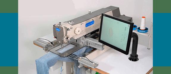 Промышленная швейная машина Garudan с электронным управлением и прямым приводом серии GPS/G-3525