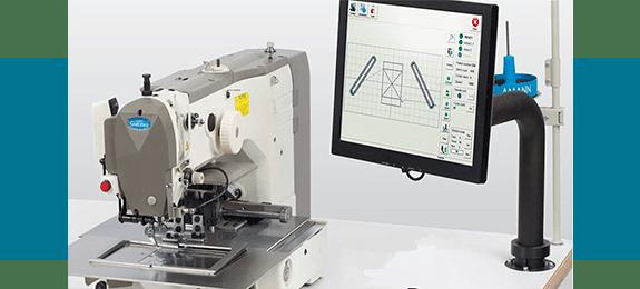 Автоматическая промышленная швейная машина Garudan с прямым приводом серии GPS/H-1510/2010
